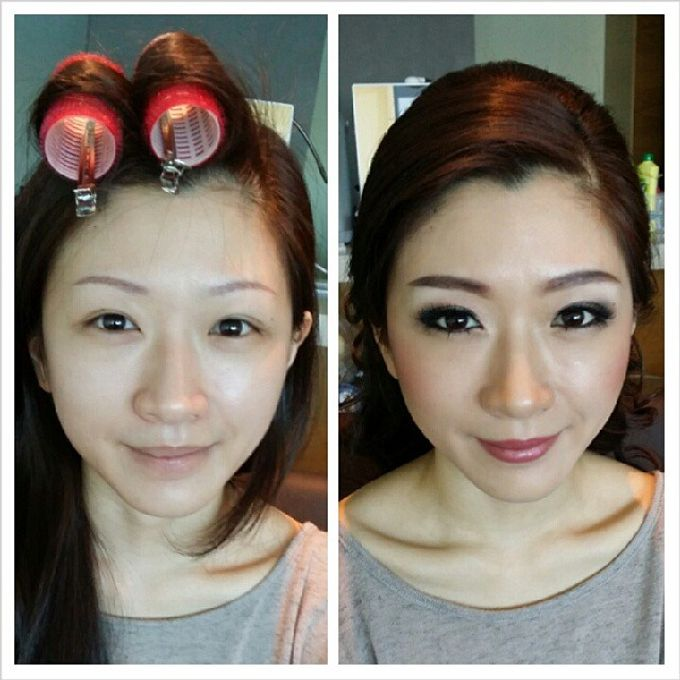 Before and After by Elly Liana Makeup Artist - 025