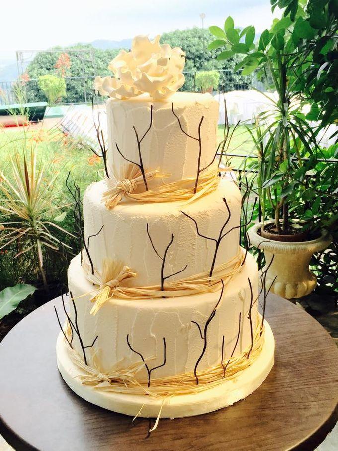 Wedding Cakes by Cupkeyk N Art - 016