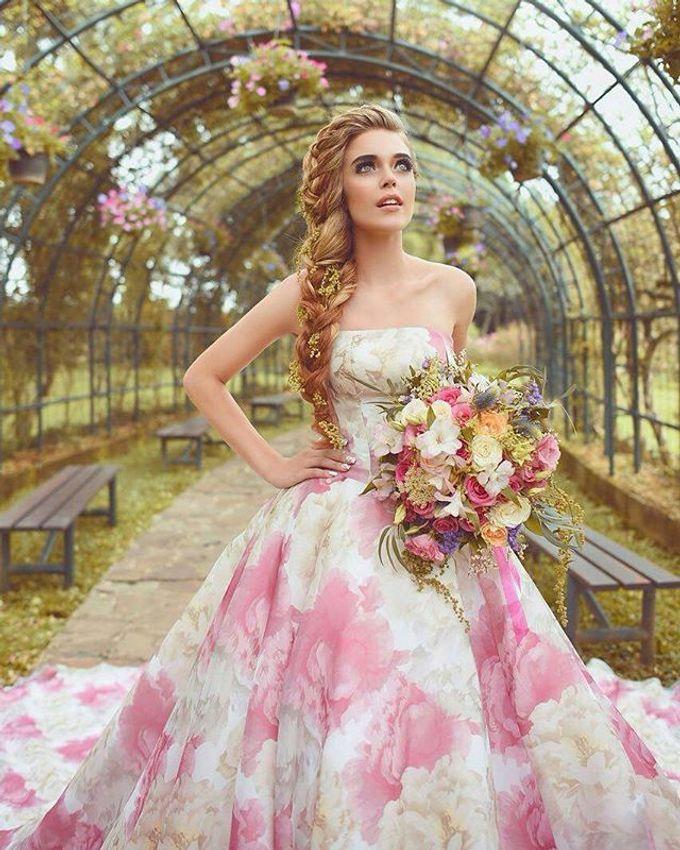 CHARME FAUX BOUQUET by LUX floral design - 009