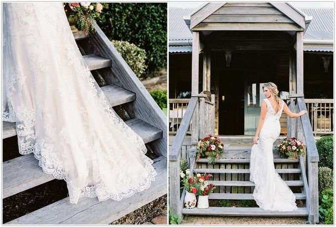 A glamorous garden wedding ticks all the right boxes for opulence and romance by Ginger Lily & Rose Floral Studio - 006