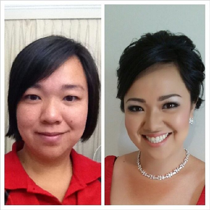 Before and After by Elly Liana Makeup Artist - 024