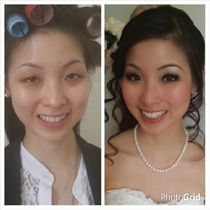 Before and After by Elly Liana Makeup Artist - 021