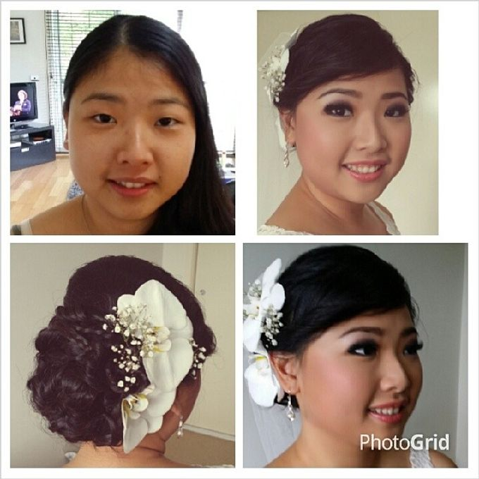 Before and After by Elly Liana Makeup Artist - 022