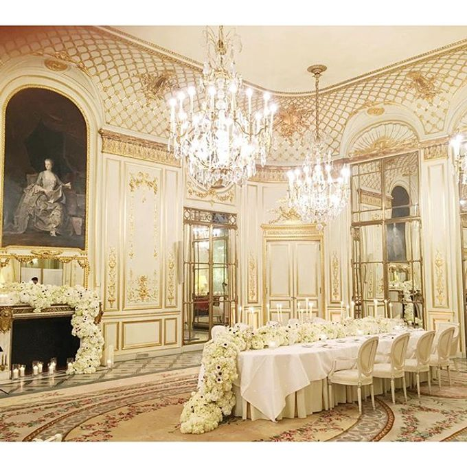 An overview of our weddings and events. by Luxe Paris Events - 019