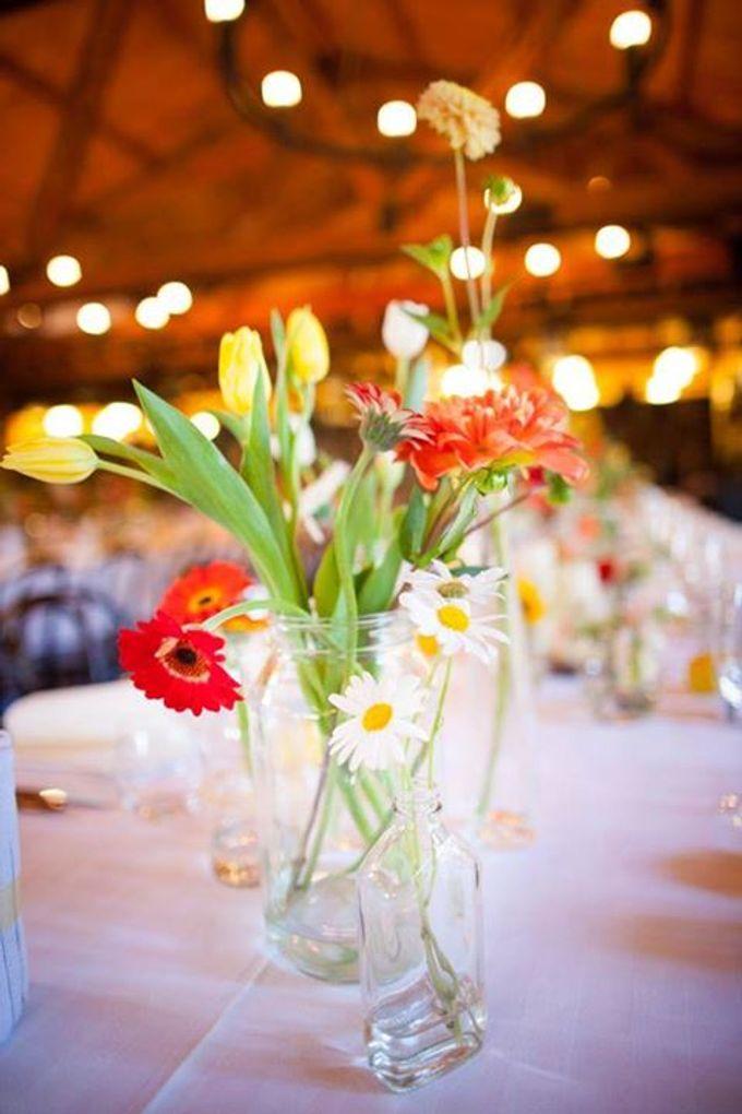 Bookbarn Wedding Decor by Fleuri - 008