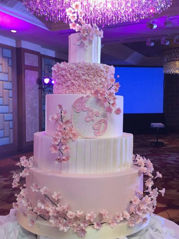Wedding Cakes by Cupkeyk N Art - 017