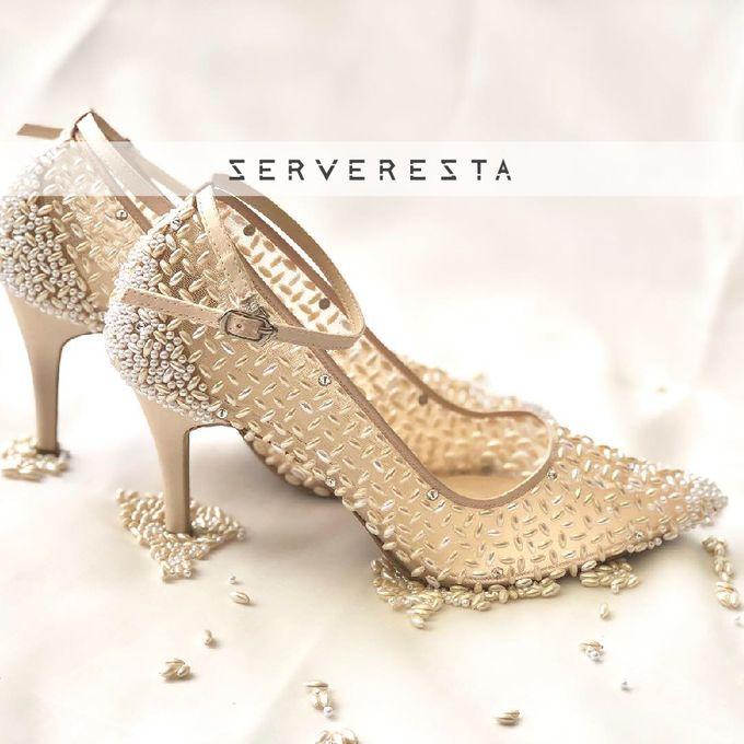 Vinette Cream Stones by SERVERESTA - 001