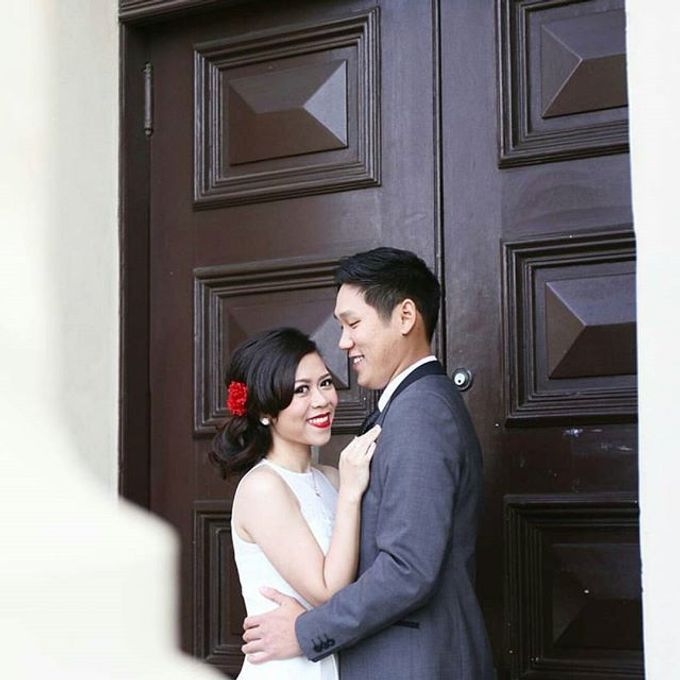 Prewedding hair and makeup by Elly Liana Makeup Artist - 002