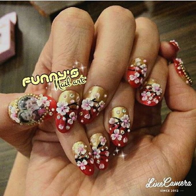 Sept- Oct by Funny's Nail art - 037