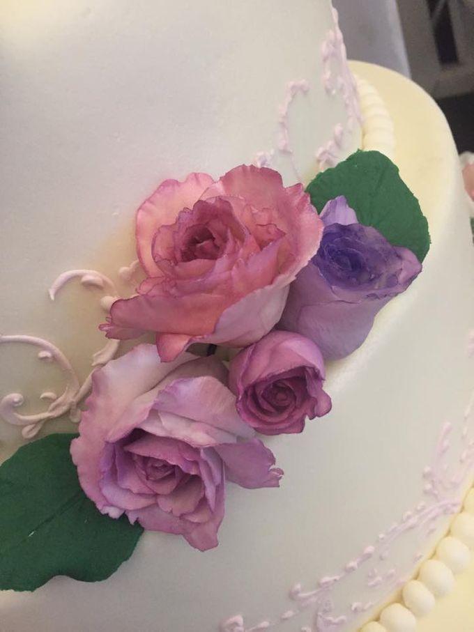 Wedding Cakes by Cupkeyk N Art - 018