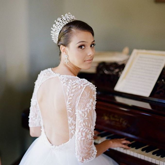 Regal Bridal Crowns and Tiaras and Headpieces by Eden Luxe Bridal - 015