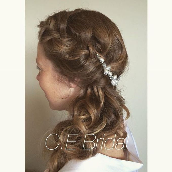 Hairstyles  by C.E Bridal - 024