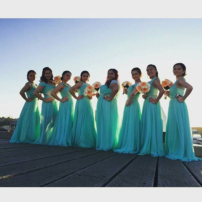 Bridal party makeup by Elly Liana Makeup Artist - 001