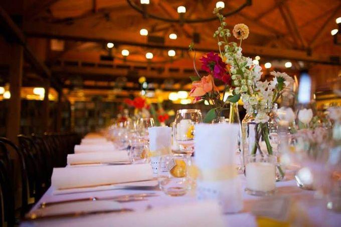 Bookbarn Wedding Decor by Fleuri - 003
