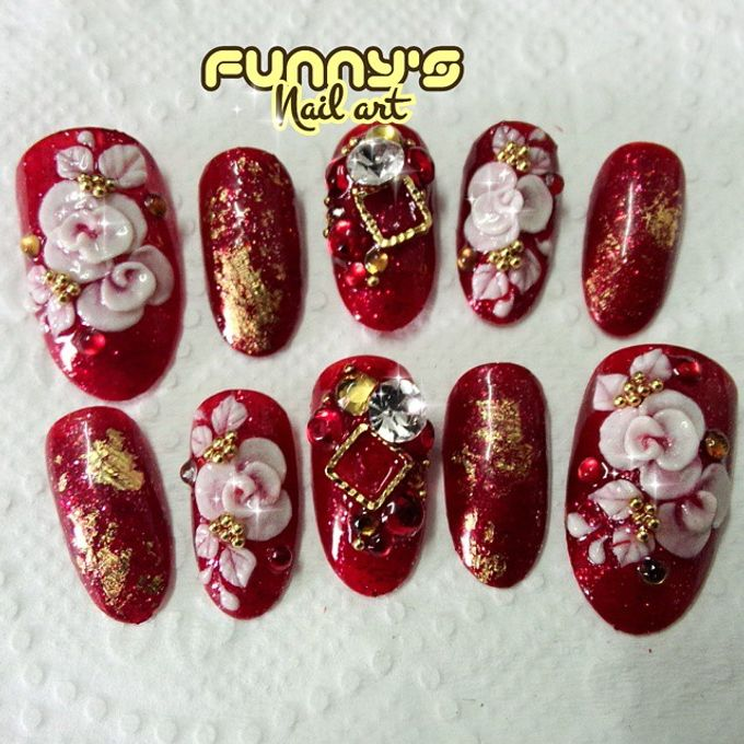 AUGUST by Funny's Nail art - 002