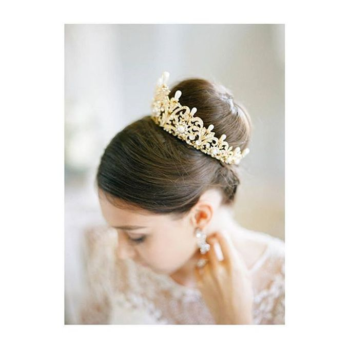 Regal Bridal Crowns and Tiaras and Headpieces by Eden Luxe Bridal - 001