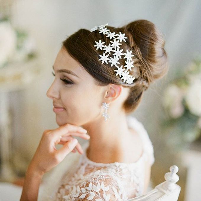 Regal Bridal Crowns and Tiaras and Headpieces by Eden Luxe Bridal - 035