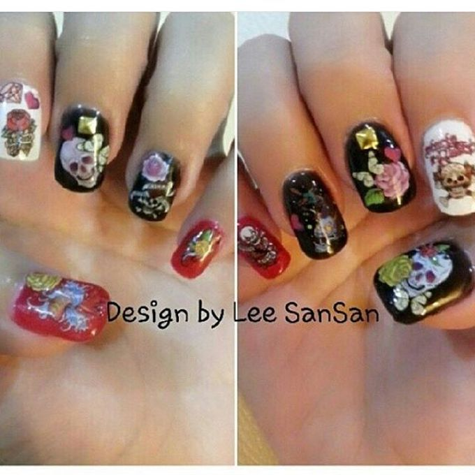 Nail Art Design by Brows To Toes - 021