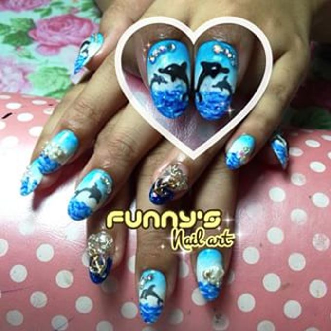 AUGUST by Funny's Nail art - 014