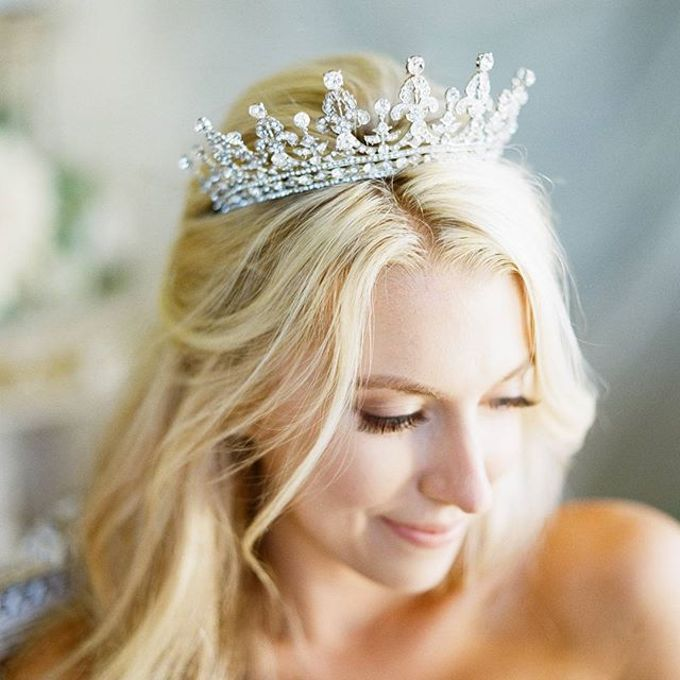 Regal Bridal Crowns and Tiaras and Headpieces by Eden Luxe Bridal - 012