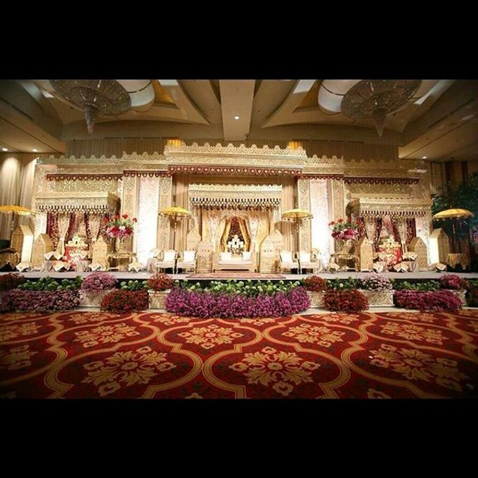 Modern Wedding of Indah and Hazieq by Watie Iskandar Wedding Decoration & Organizer - 017