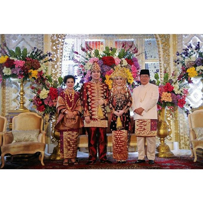 Akad Nikah Tema Palembang by Watie Iskandar Wedding Decoration & Organizer - 006