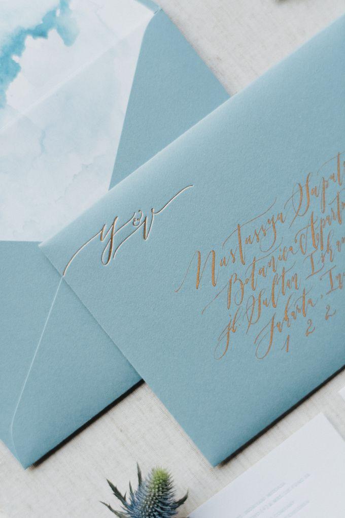 Yoga & Vivi Wedding by Veronica Halim Calligraphy - 002