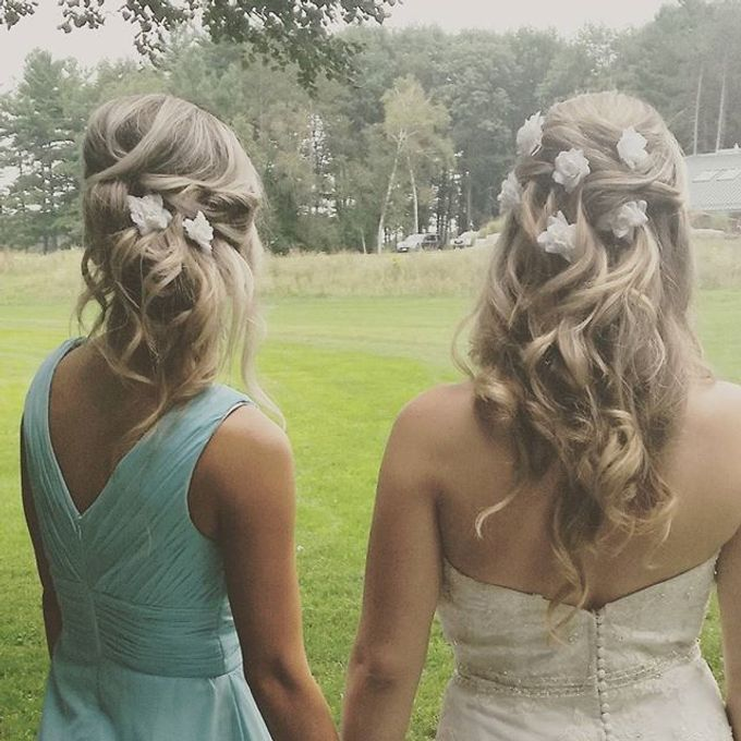 Hairstyles  by C.E Bridal - 020