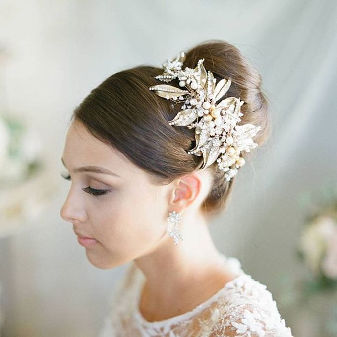 Regal Bridal Crowns and Tiaras and Headpieces by Eden Luxe Bridal - 017