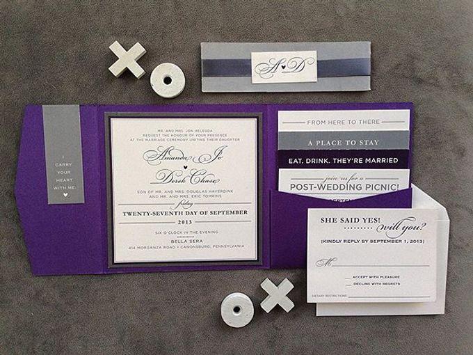 Wedding stationery portfolio  by Hello Beautiful Designs - 041