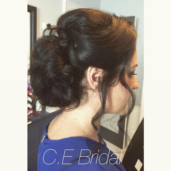 Hairstyles  by C.E Bridal - 018