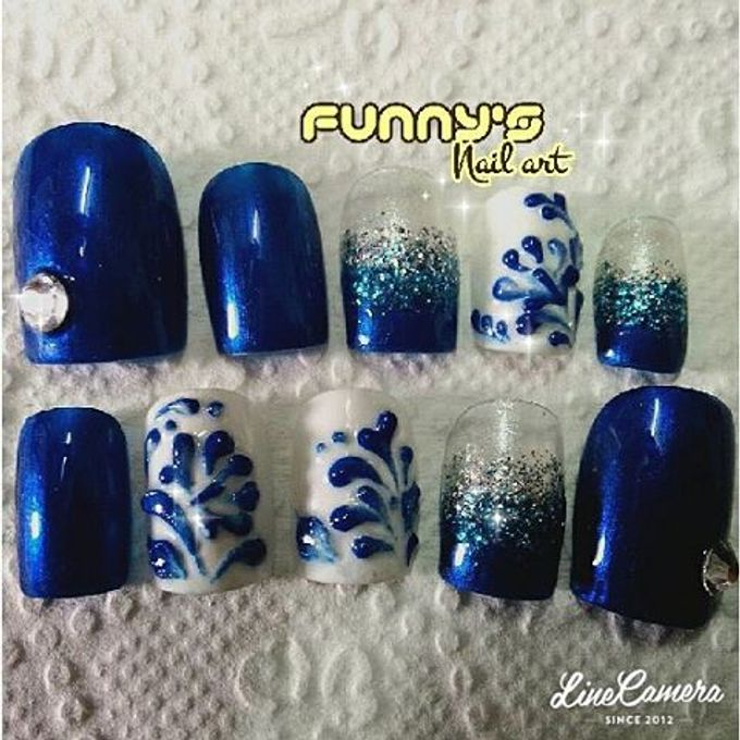 Sept- Oct by Funny's Nail art - 035