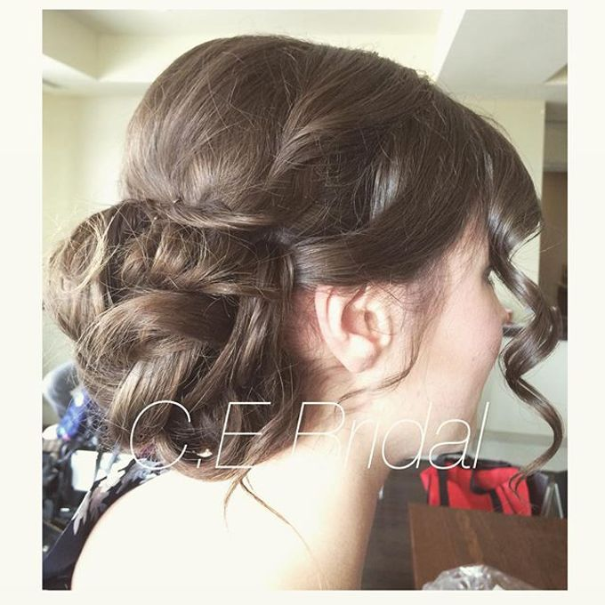 Hairstyles  by C.E Bridal - 019