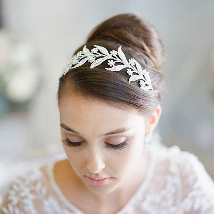 Regal Bridal Crowns and Tiaras and Headpieces by Eden Luxe Bridal - 020