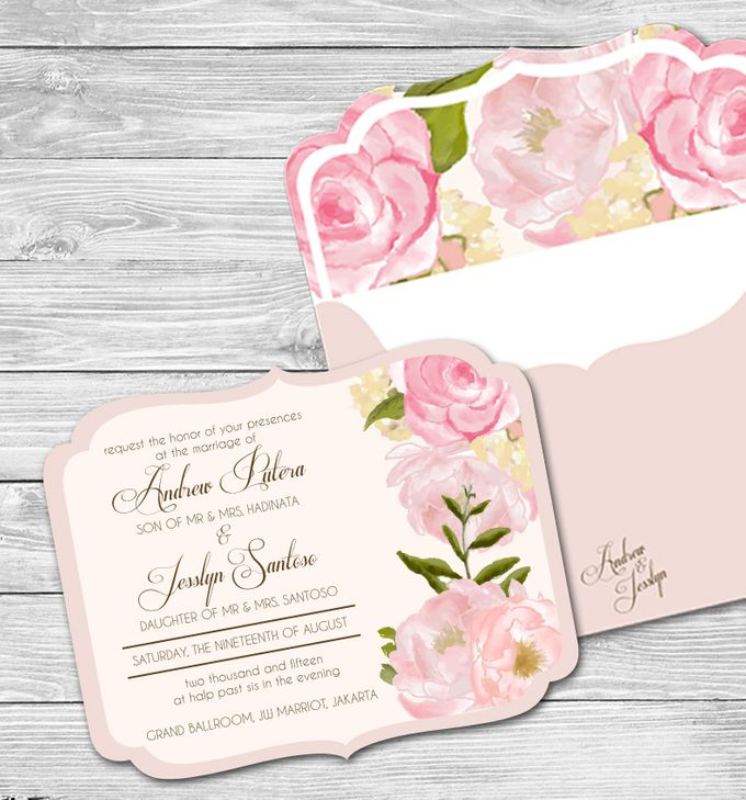 Floral Crown Watercolor Style by Jolly's Little Dreams - 005