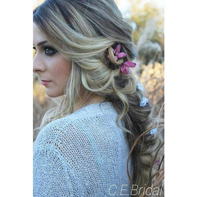 Hairstyles  by C.E Bridal - 013