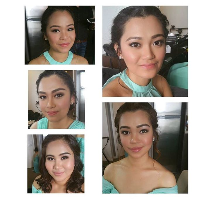 Bridal party makeup by Elly Liana Makeup Artist - 002