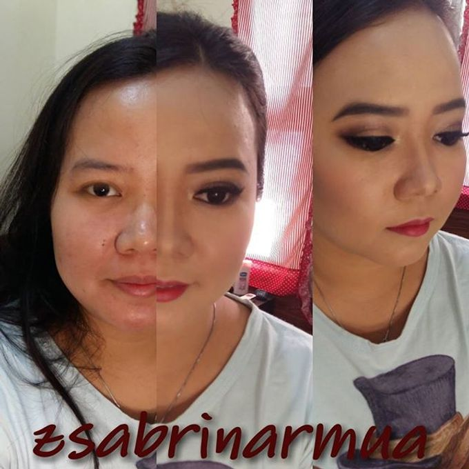 Before after by zsabrinar Makeupartis - 022