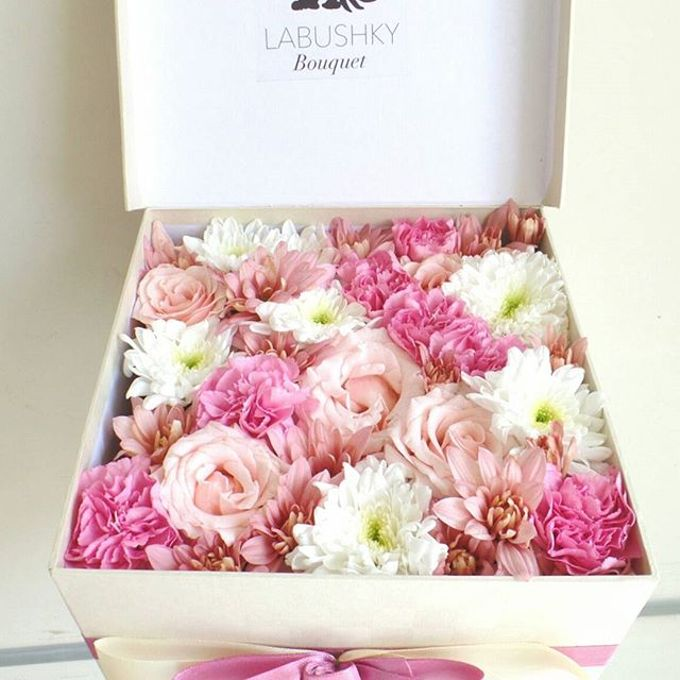 Flower Box by LABUSHKY Bouquet - 011