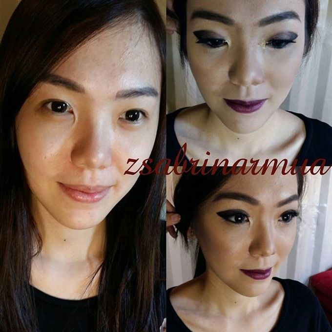 Before after by zsabrinar Makeupartis - 027