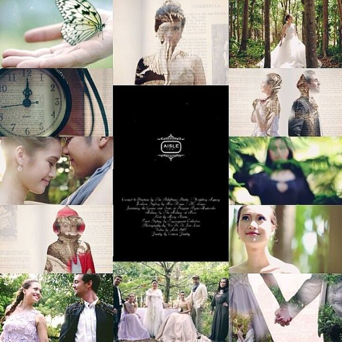 Rebelle - Into the Woods x Cinderella Wedding by Aisle 1401 - 006