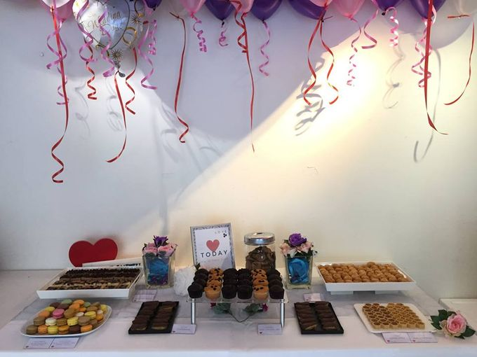 Wedding Reception at The Centris Function Room by PastryDen Pte Ltd - 001