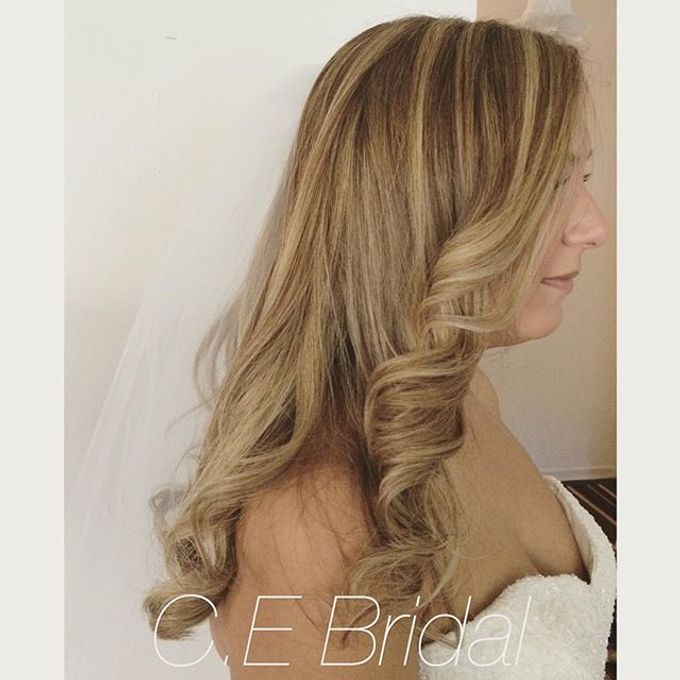 Hairstyles  by C.E Bridal - 022