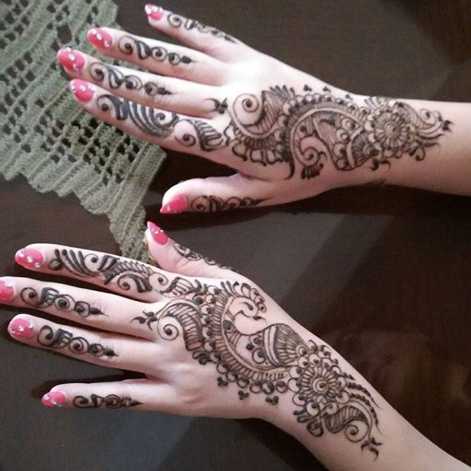 Bridal Henna - Arabic by Nakreze Mehndi - 018