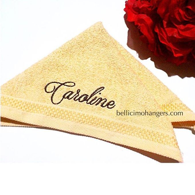 Bridesmaids Essentials - Embroidery Handkerchief by Béllicimo Personalized Hanger & Favors - 006