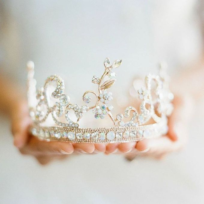 Regal Bridal Crowns and Tiaras and Headpieces by Eden Luxe Bridal - 016