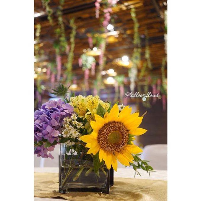 Rustic Wedding by La Bloom Florist - 015