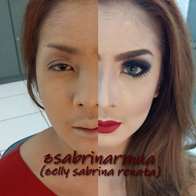 Before after by zsabrinar Makeupartis - 021