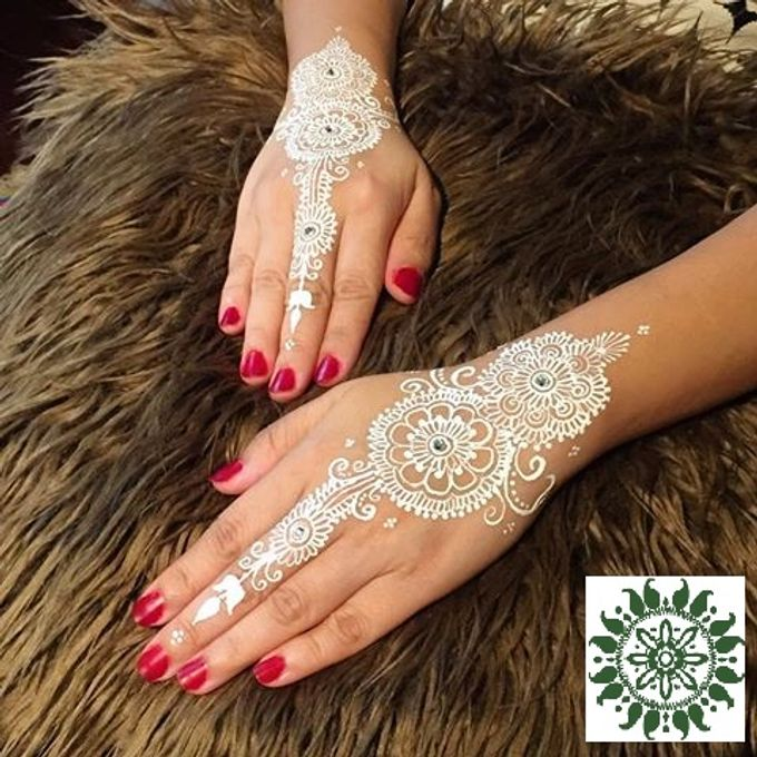 White Lace Henna by Henna Tattoos and More - 001