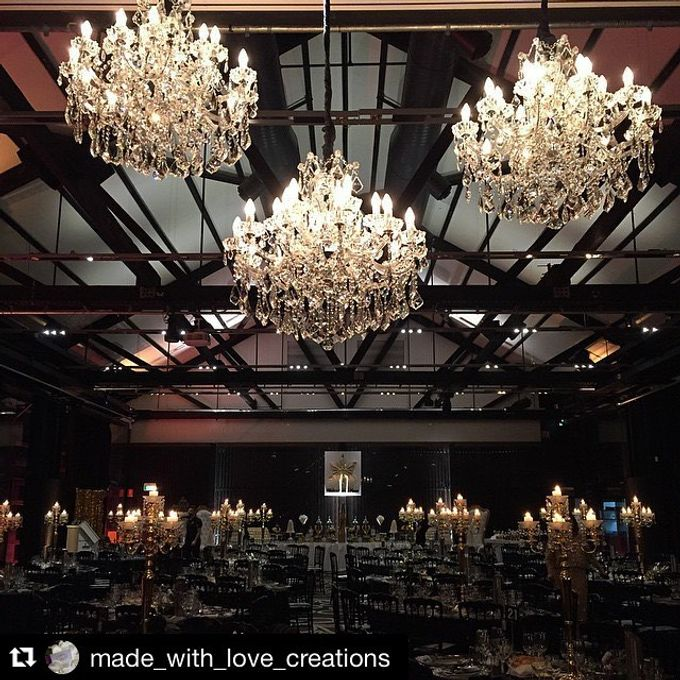 Add To Board Shine Dine Event 2017 By Starlight Chandeliers 005